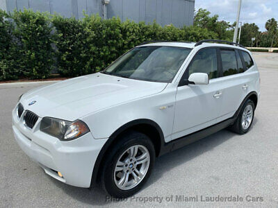 2006 BMW X3 3.0i AWD Low Miles Garage Kept Dealer Serviced Fully Loaded All Wheel Drive Fully Loaded!
