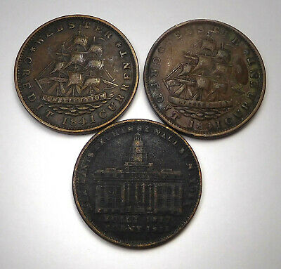 Lot Of 3 Hard Times Tokens