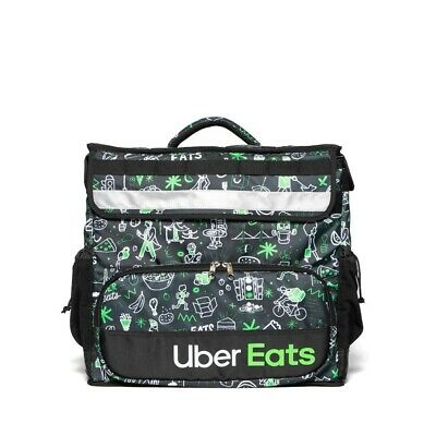 Uber Eats Limited Edition Insulated Bag Postmates Grub Hub Door Dash Sophia