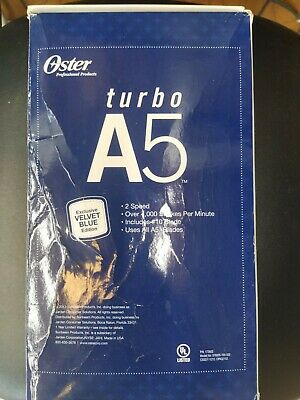 Oster a5 turbo 2 speed Professional Grooming Hairclipper