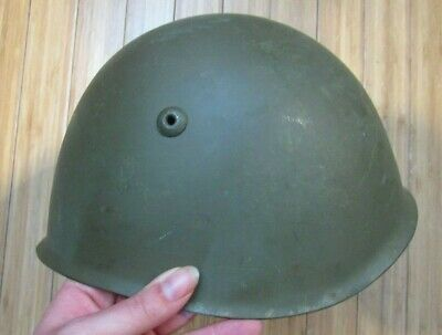 Desert Storm Iraqi Italian type helmet with liner and chinstrap DS captured