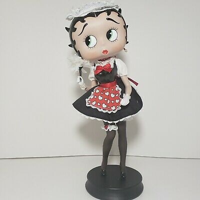 Betty Boop As French Maid Betty By Danbury Mint