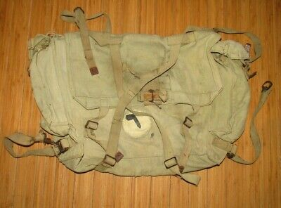 Desert Storm Iraqi Army P-58 back pack UNIT MARKED
