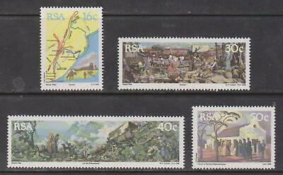 RSA SOUTH AFRICA 1988 - 150th Anniversary of the Great Trek SG 673-676 MNH MAPS