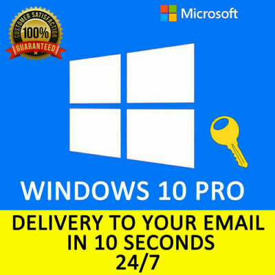 Windows 10 Pro🔥Professional ⚡Genuine License Key 🔑 Instant Delivery 📩🔥