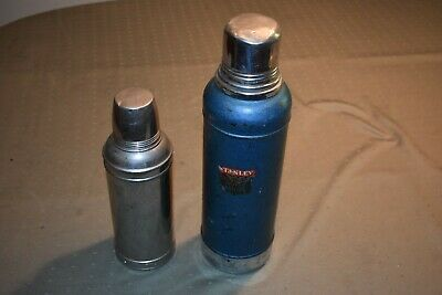 2 Vintage Thermos Bottles. 1 Stanley, 1 American Thermos. Both Very Good Cond. N
