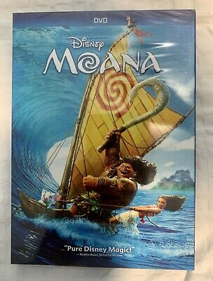 Moana (DVD, 2016, Disney)~~AWESOME DEAL~~ FREE SHIPPING!
