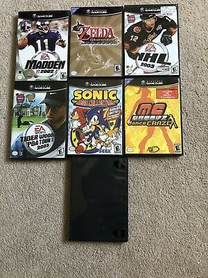 Nintendo GameCube Games Lot Wind Waker Sonic -tested