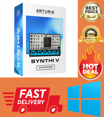 Arturia Synthi V Collection 2020.5 (Win64; AAX, VST3) ✔Instant Delivery ✔️ [WIN]