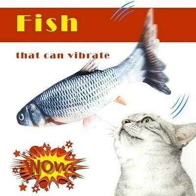 New Electric Cat Wagging Fish Toy for Cats Biting Chewing and Kicking Catfish