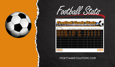 Football Betting Software - Soccer Betting System Goal Stats