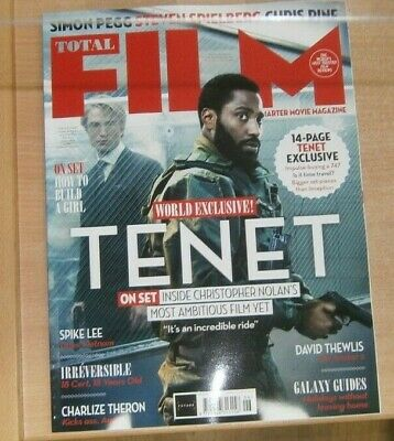 Total Film magazine #299 Jun 2020 Tenet Exclusive + Spike Lee Charlize Theron