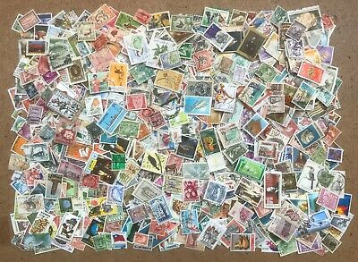 World Stamps - OFF Paper - 1000+ Includes Commonwealth - mainly Mid to Modern