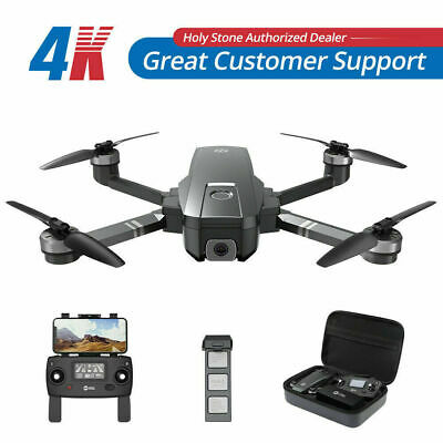 Holy Stone HS720 GPS drone 2K FHD camera brushless foldable FPV quadcopter case