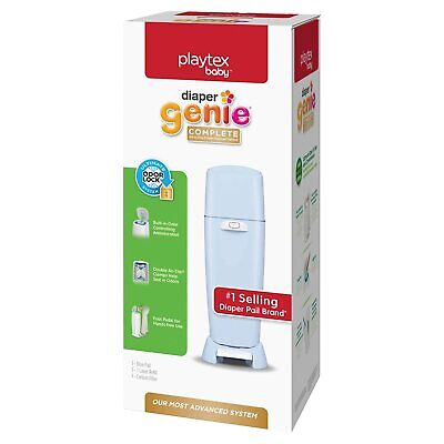 Playtex Diaper Genie Complete Pail with Built-In Odor Controlling Antimicrobial