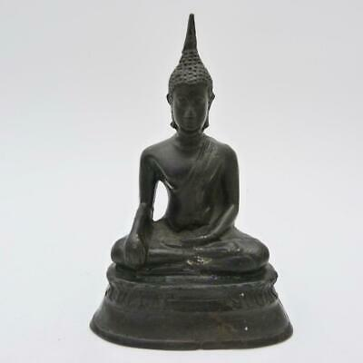 Antique Thai Sukhothai Copper Buddha