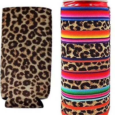 Leopard Koozies,Summer,White Claw, Gift,Slim Can Koozie People Are Free Boutique