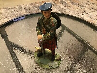 Vintage Collectible Sculptures UK Scottish Jacobite Figurine