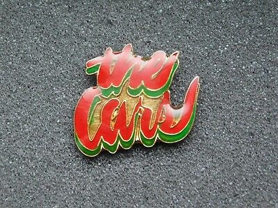 Vintage Metal Pin The Cars