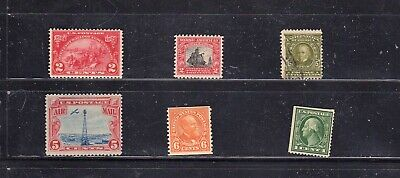 United States Small Lot Sc #309 // #C11 5 MINT (1 Used)  SCV. $42.95 (BB163)