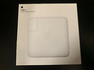 Apple Original Sealed 87W USB-C Power Adapter Fast Charger (MNF82LL/A) A1719