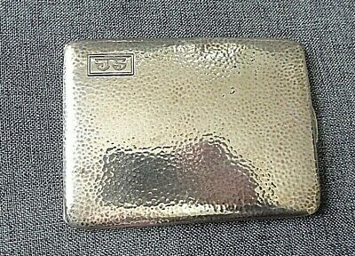 Antique R. Blackinton & Co Sterling Silver Hammered Cigarette Box/Case