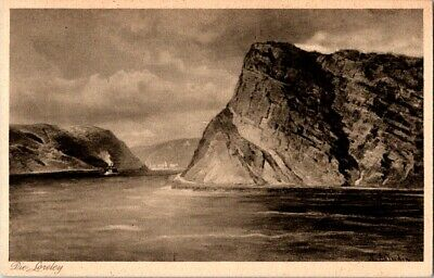 Vintage Postcard Die Loreley