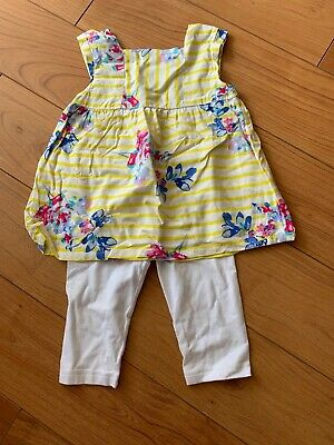 Beautiful summer outfit, joules top and next cropped leggings age 6