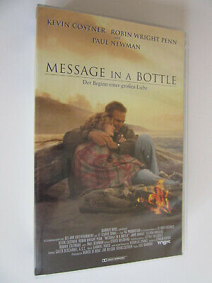 VHS Video Film - Message in a Bottle