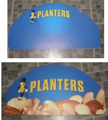 Planters Nuts Mr. Peanut Store Display Store Sign