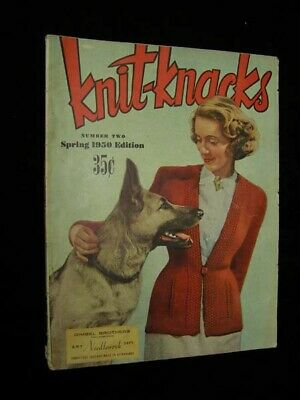 Knit Knacks #2 Spring 1950 Gimbel Bros. Philadelphia PA Art Needlework Dept. 65