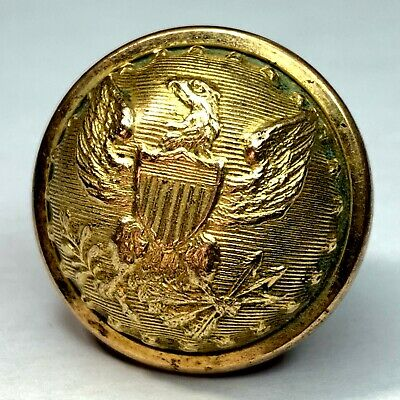 Mexican War Civil War Union Army staff officer 23mm coat button - early Robinson