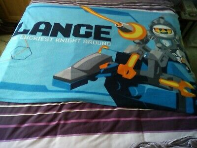 Lego Nexo Knights, Fleece Blanket. Lance. By Character World.