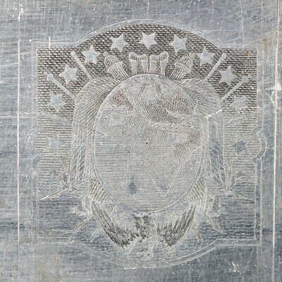 American Bank Note Company: World Printing Plate - ABNC Stamp Plate