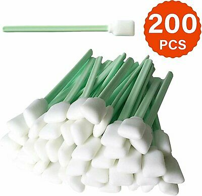"""Cleaning Swab Sticks - 5"""" Square Rectangle Foam Cotton Swab for Solvent..."""