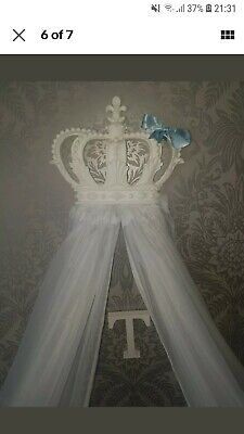 Baby Boy crown Cot Canopy
