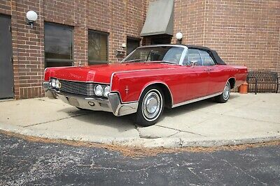 1966 Lincoln Continental Convertible 1966 Lincoln Continental Convertible red 462 1965 1967