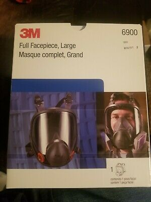 3M Full Facepiece Reusable Respirator Large - 6900