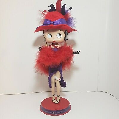 """Betty Boop """"Hot Red Lady"""" Danbury Mint Vintage Collectable"""