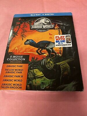 Jurassic World 5 Movie Collection [Blu-ray + Digital] [New] Free Shipping!