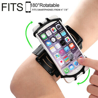 Rotation Jogging Armband Case Cover Holder Running Wrist Band For Mobile Phone