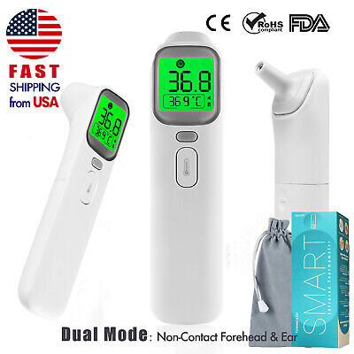 Non Contact Infrared Forehead Thermometer Baby Temperature Screening MEDICAL FDA