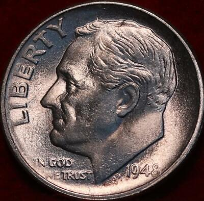 Uncirculated 1948-S San Francisco Mint Silver Roosevelt Dime