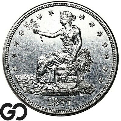 1877-S Trade Dollar, Always In High Demand Silver $ Series, ** Free Shipping