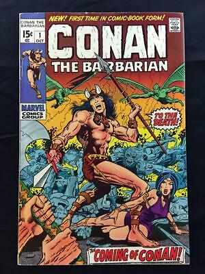CONAN THE BARBARIAN #1 1st APPEARANCE of CONAN in COMICS BARRY WINDSOR-SMITH!