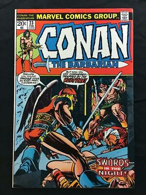 CONAN THE BARBARIAN #23 1st FULL RED SONJA APPEARANCE BARRY WINDSOR-SMITH!