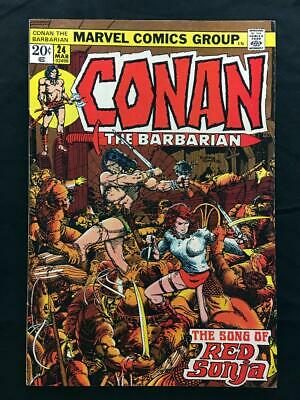 CONAN THE BARBARIAN #24 2nd RED SONJA APPEARANCE BARRY WINDSOR-SMITH!