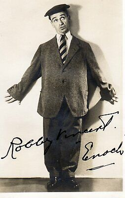 "ROBBIE VINCENT ""ENOCH"" AUTOGRAPH Deceased, HAPPIDROME"