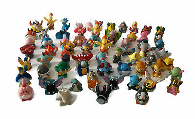 Pokemon Finger Puppets Large Lot Of 66 Assorted