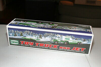 2010 Exclusive Hess Truck with Jet - NIB